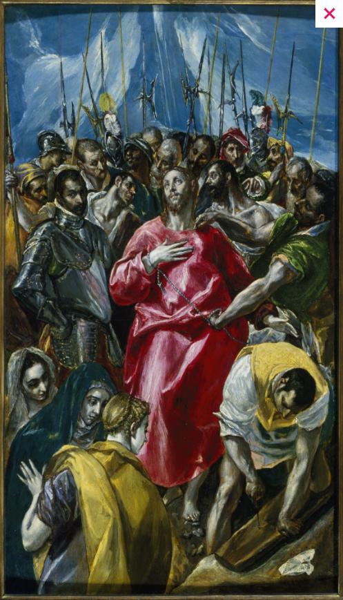 'El espolio' (The Disrobing of Christ)