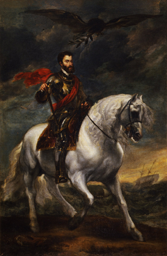 Equestrian portrait of the Emperor Charles V
