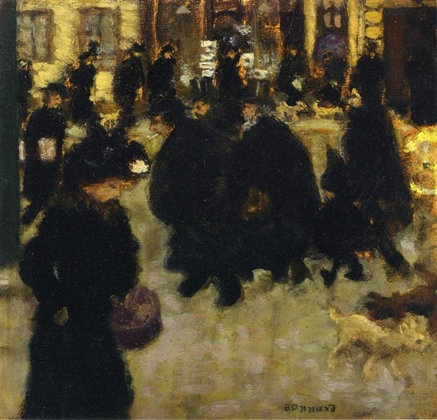 Figures In The Street