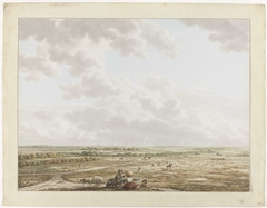 Gezicht van de Tafelberg met op de voorgrond Blaricum