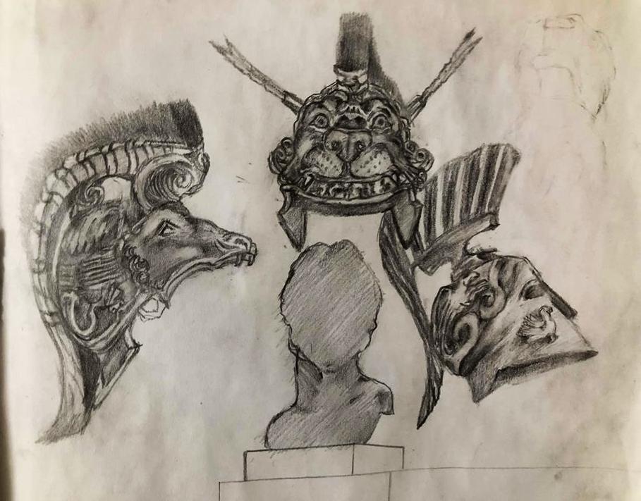 helmets of the alexander