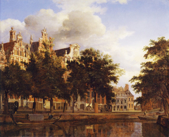 Houses on the Herengracht, Amsterdam