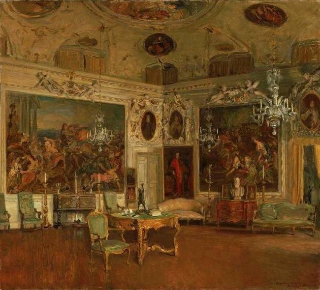 Interior of palazzo barbaro venice walter gay artwork for Interieur queer