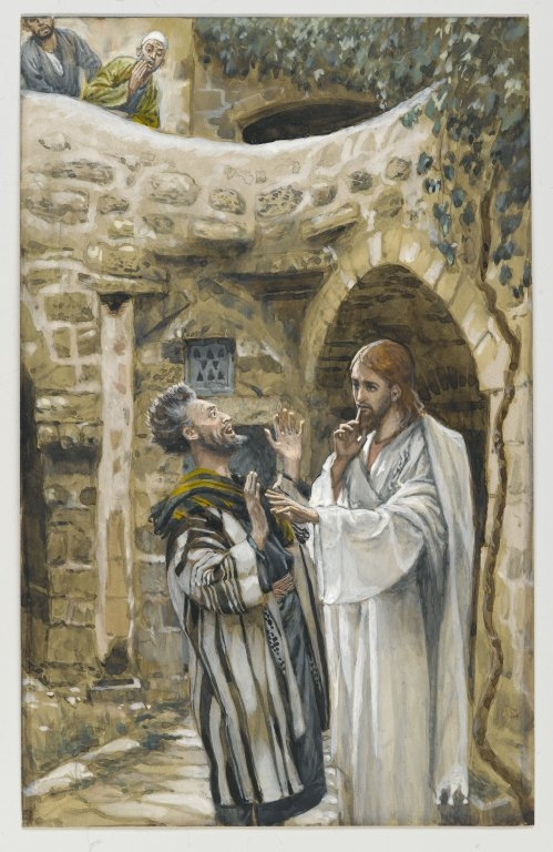 Jesus Heals a Mute Possessed Man