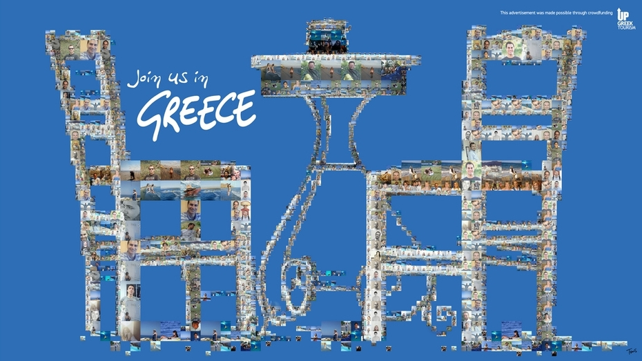 Join us in Greece (Up Greek Tourism: The table)