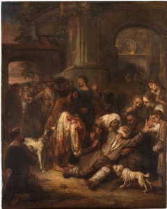Joseph bewailed as dead by his father; the sons and daughters are unable to console him (Genesis 37:22-33)