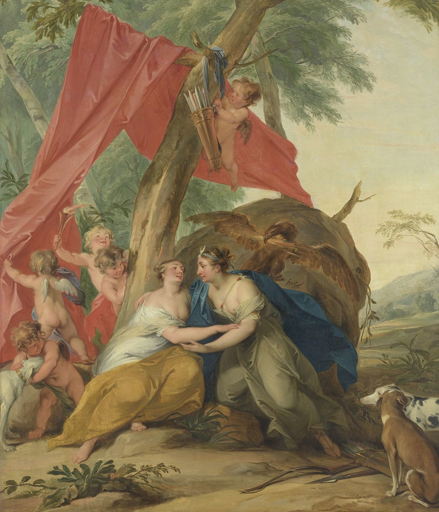 Jupiter, Disguised as Diana, Seducing the Nymph Callisto
