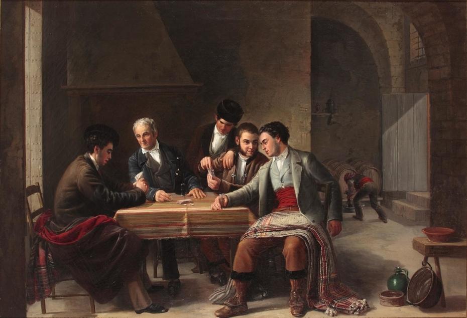 La partida de cartas