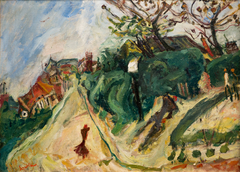 Landscape with character