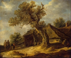 Landscape with Oak