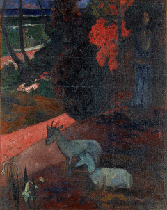Landscape with Two Goats (Tarari Maruru)