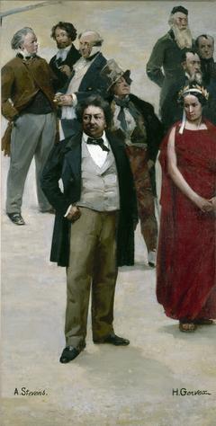 Le panorama du siècle : Dumas, Rachel, Daumier, Gavarni, Henri Monnier, Frédérick Lemaître, Rude, Horace Vernet, Delaroche