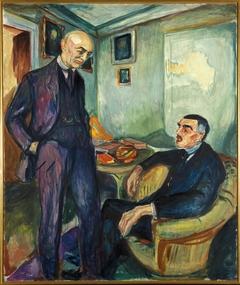 Lucien Dedichen and Jappe Nilssen