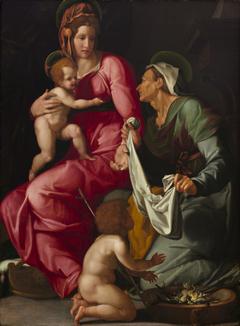 Madonna and Child with Saint Elizabeth and Saint John the Baptist