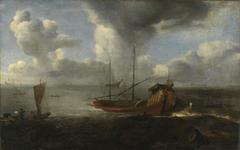 Marine mit venezianischem Bucintoro