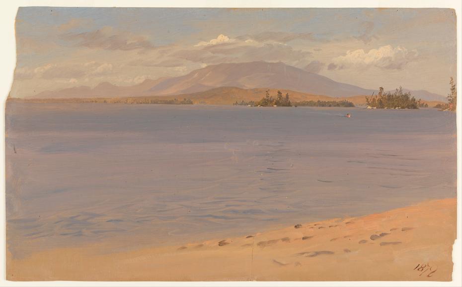 Mount Katahdin from Lake Millinocket