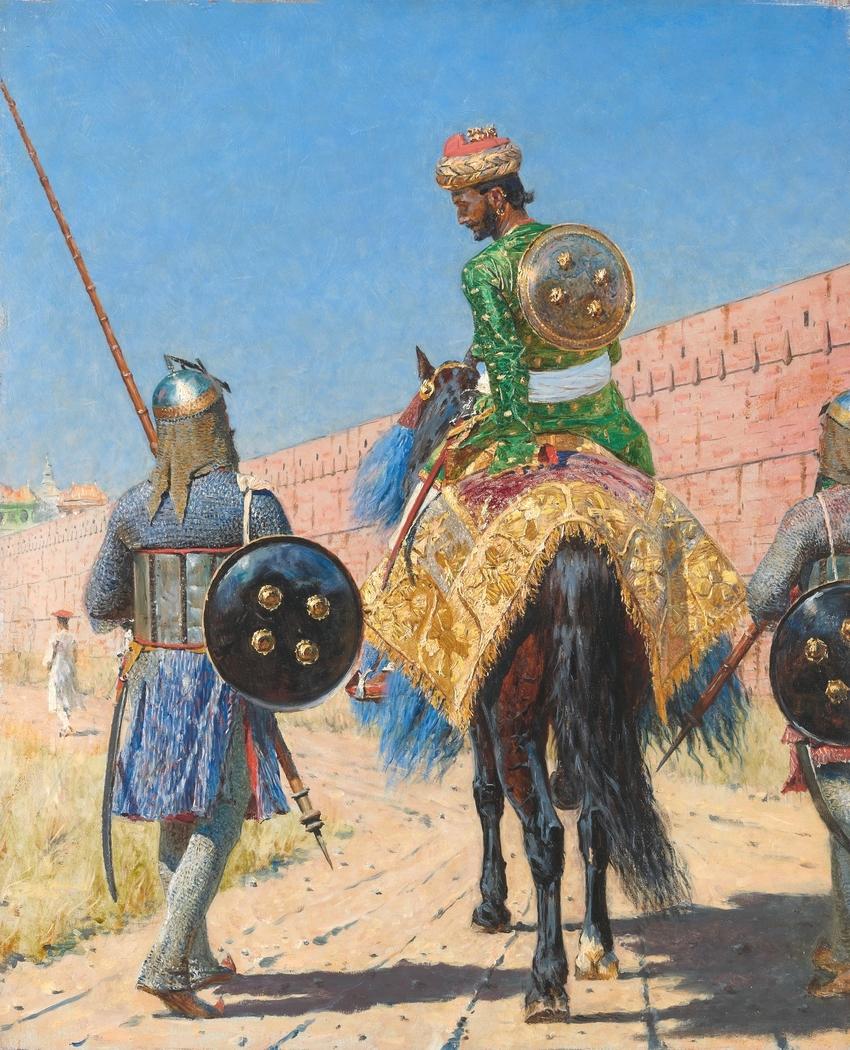 Mounted Warrior in Jaipur