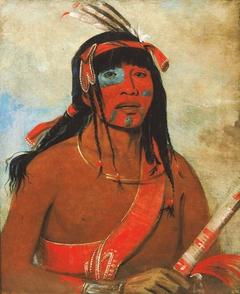 O-tá-wah, The Ottaway, a Warrior
