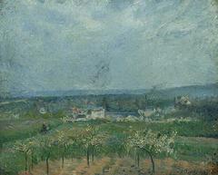 Paysage à Pontoise