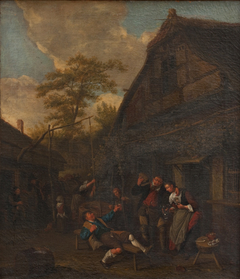 Peasants outside an Inn