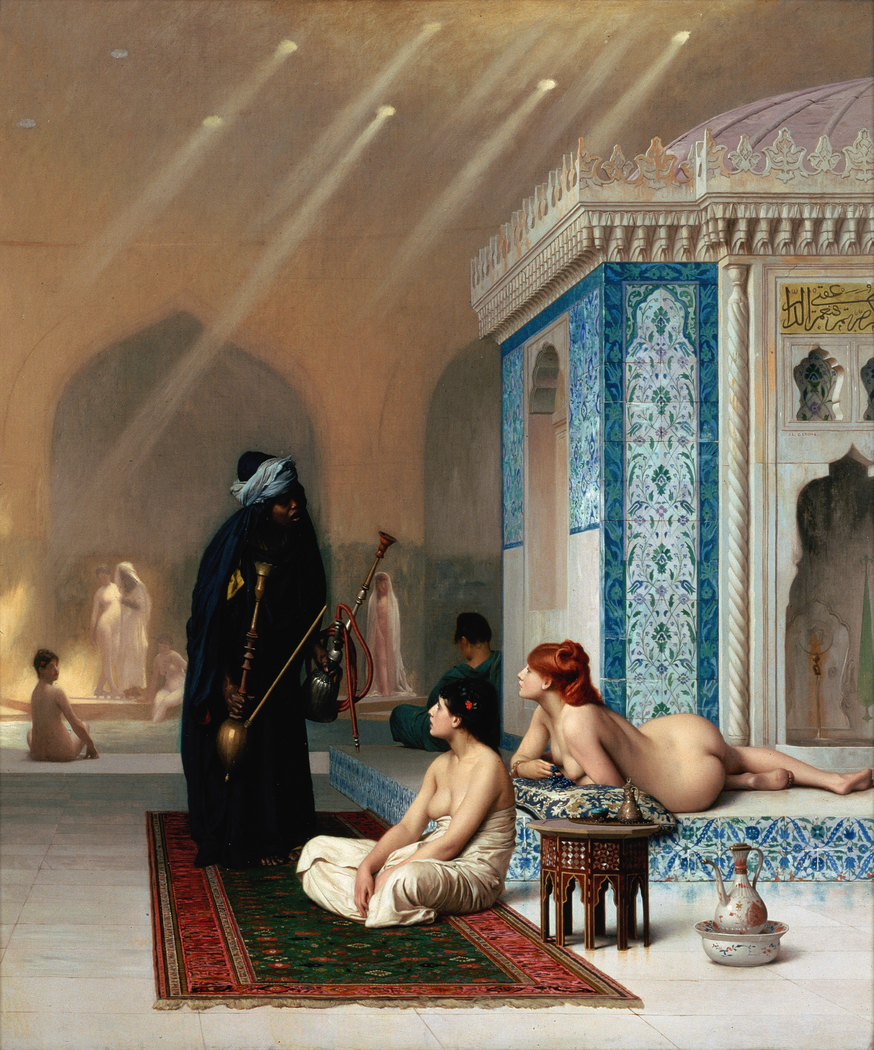 Pool in a Harem