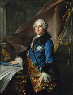 Portrait d'Abel Poisson, marquis de Marigny (1727-1781), surintendant des bâtiments du roi
