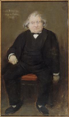 Portrait d'Ernest Renan (1823-1892), philosophe