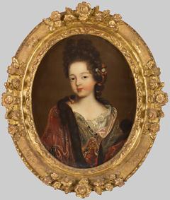 portrait de mademoiselle de Blois, duchesse d'Orléans