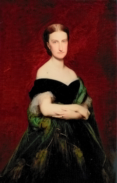 Portrait de Marie-Caroline-Auguste de Bourbon-Siciles, princesse de Salerne, duchesse d'Aumale (1822-1869)
