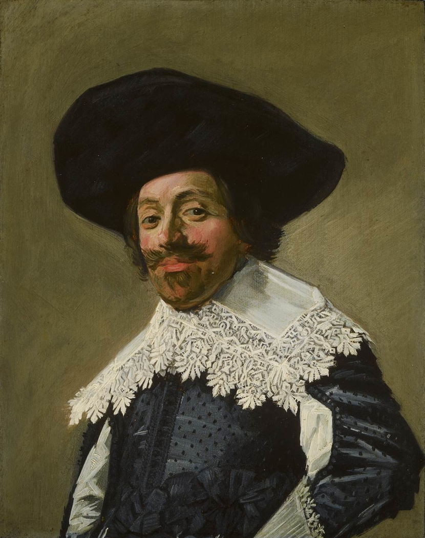 Portrait of a man with a hat