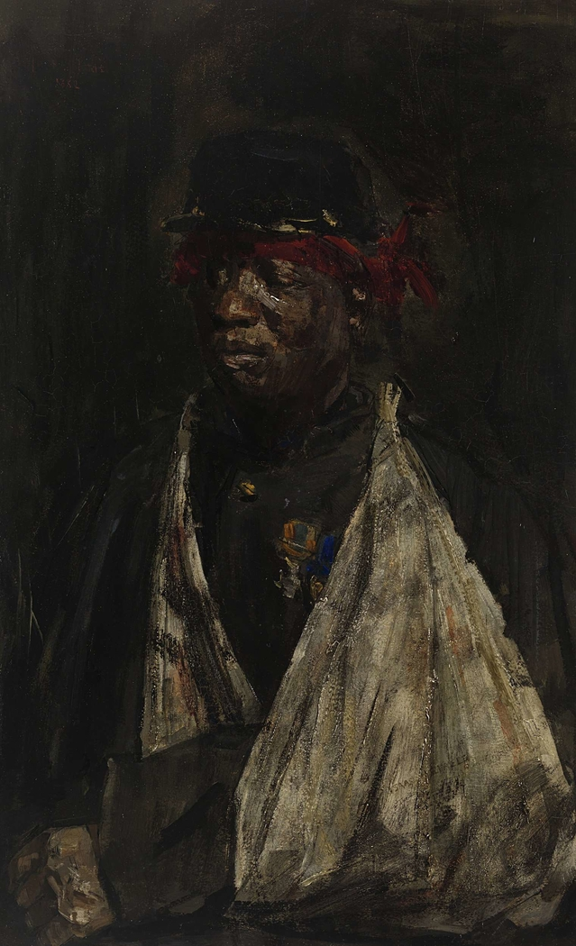 Portrait of a Wounded KNIL Soldier