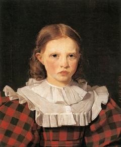 Portrait of Adolphine Købke, Sister of the Artist