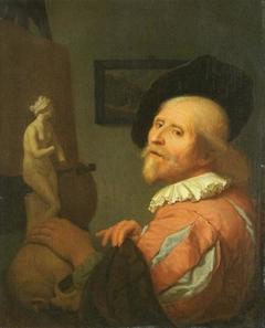 Portrait of an Artist in His Studio