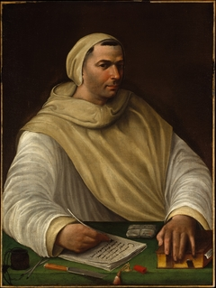 Portrait of an Olivetan Monk