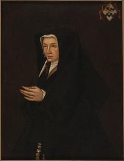 Portrait of Beatrix van Slingeland (1485-1555). Wife of Cornelis de Witt