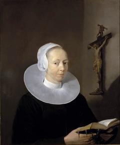 Portrait of Berber Ruertsdr van Juckema (1610-1667)