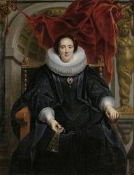 Portrait of Catharina Behaghel