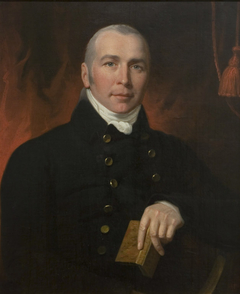 Portrait of Doctor Simmons, Physician to King George III