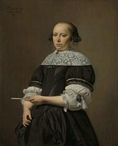 Portrait of Elisabeth van Kessel, Wife of Willem Jacobsz Baert