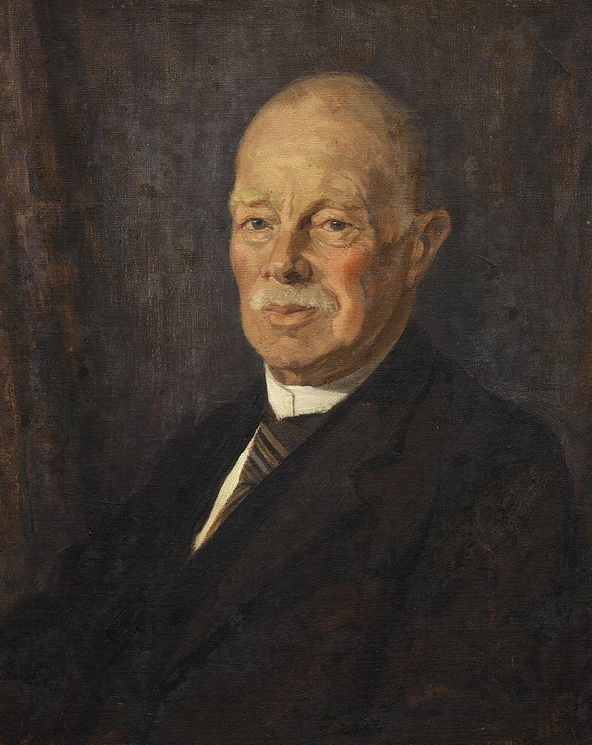 Portrait of George Vernon Hudson