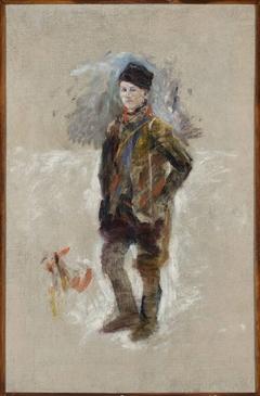 Portrait of Gościmiński, sketch