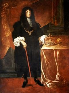 Portrait of King John II Casimir.