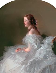 Portrait of Lydia Schabelsky, Baroness Staël-Holstein