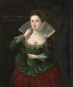 Portrait of Margaret Leeson (born Brice)