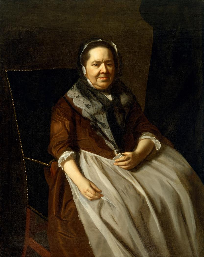 Portrait of Mrs. Paul Richard (Elizabeth Garland, 1700–1774)