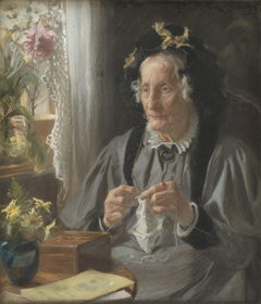 Portrait of Mrs. S. A. Casse, née Engelbreth