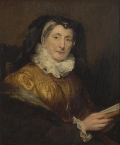 Portrait of Mrs W. Collins