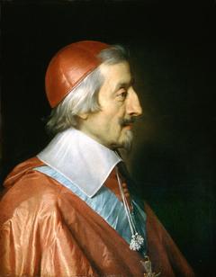 Portrait of Richelieu by Philippe de Champaigne
