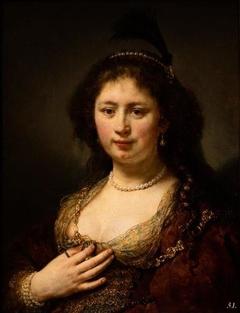 Portrait of Sara van Baerle