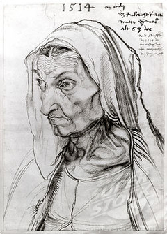 Portrait of the Artist's Mother at the Age of 63